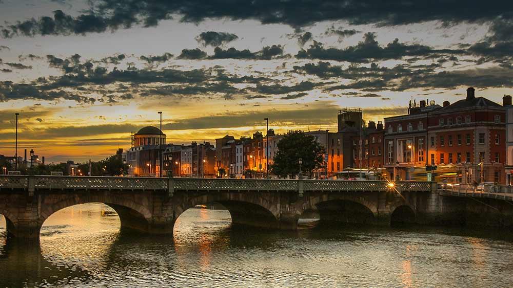 Daemmerung in Dublin