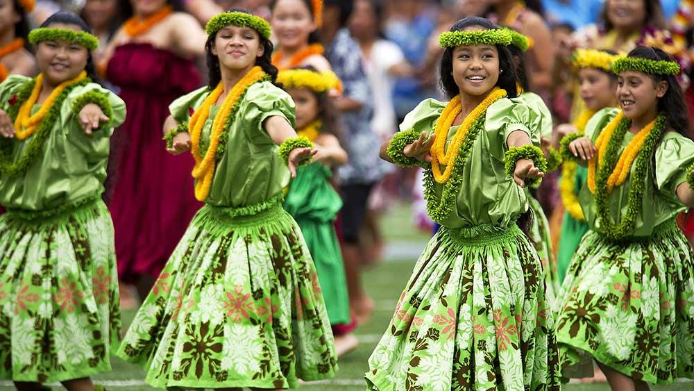 Tanz auf Honolulu