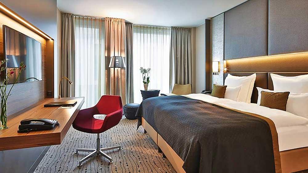 Hotelzimmer im Steigenberger, Berlin