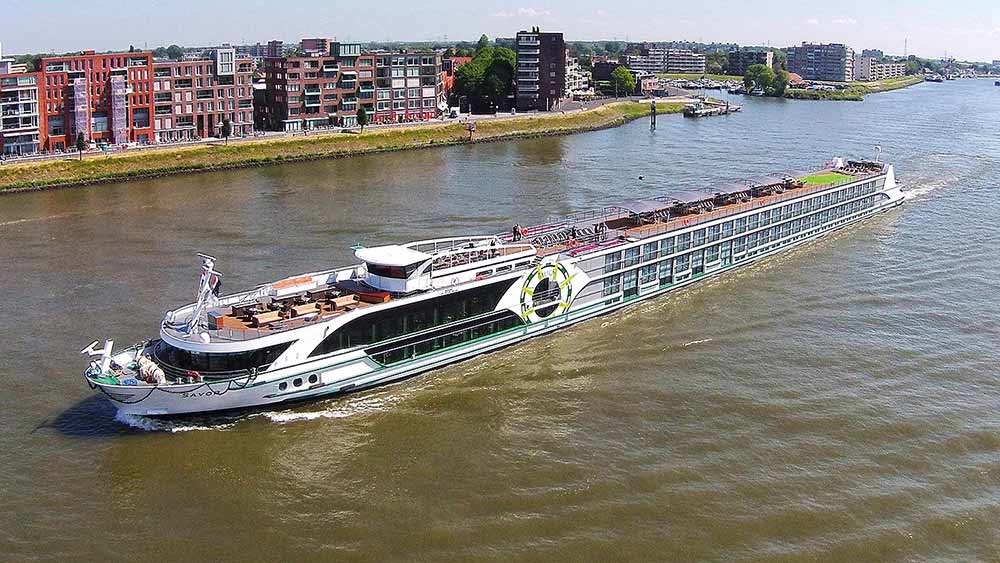 MS Savor auf der Donau