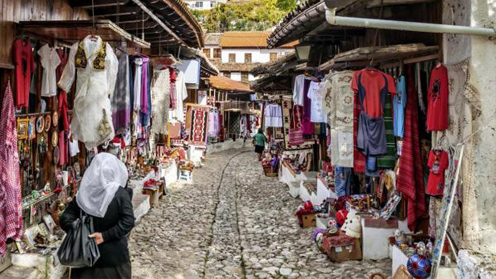 Albanien Mazedonien Markt